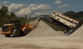 The development work of the crushing plant had been completed